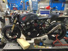Café Racer Seven Fifty in progress
