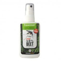 TravelSafe TravelDeet 40% anti-insectenspray