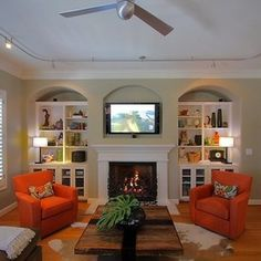 contemporary family room by Surge - ATX