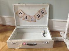 Cards Koffer! Traumhaft im Vintage Look! Für deine Geldgeschenke bei www.weddstyle.de mieten