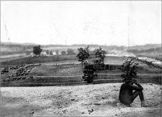 Antietam, during the battle