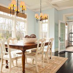 West Coast Hampton - traditional - dining room - portland - Garrison Hullinger Interior Design Inc.