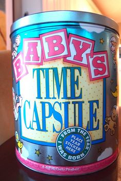 time capsule for expectant moms