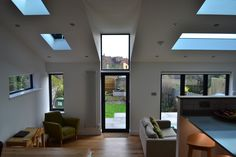 #Skylights of all shapes and sized. Designed by Paul. Get matched with the right design professional for your home project on www.designforme.com