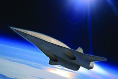 This is the successor to the SR-71 Blackbird, and it is gorgeous.