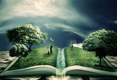 The Magic Of Literature by Ponti55.deviantart.com on @deviantART