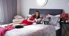 sypialnia, łóżko, łóżka, łóżko kontynentalne, komfort, wygoda http://abcsypialni.pl/blog/lozka-tapicerowane/