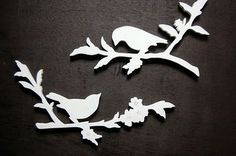 Scroll Saw Bird cutouts