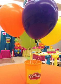 Sa'riyah first birthday party ? Lego Friends Birthday, Kids Birthday Themes, 4th Birthday Parties, Birthday Fun, Play Doh Party, Bubble Party, Space Party, Party Time, First Birthdays
