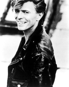 David Bowie is a rubber peacock angelic whore, he services our every kink and fantasy. He's our King...