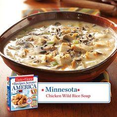 Minnesota -- Chicken Wild Rice Soup