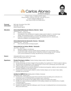 Resume Interior Design Resume Resume Design Resume Design Template