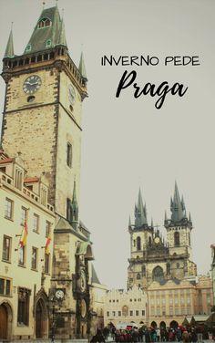 Praga encanta em qualquer época do ano, inclusive no forte frio do inverno!