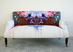 Timorous Beasties // Ouch Couch Victorian Loveseat