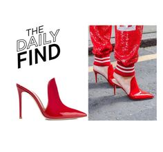 """Daily Find: Gianvito Rossi Shoes"" by polyvore-editorial ❤ liked on Polyvore featuring Gianvito Rossi and DailyFind"