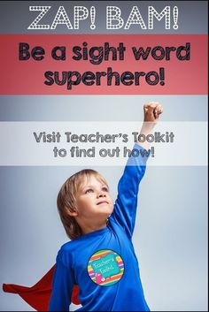 Fun, interactive and engaging ways to help your child learn those tricky sight words! Something in every pack to suit every learning style. Your students will be sight word superheroes in no time!