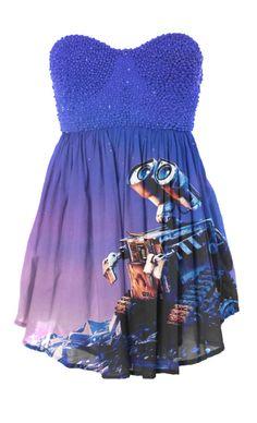Wall-E Dress