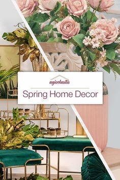 💐 Εμπνεύσου από τις συλλογές μας και δημιούργησε ένα σπίτι με ανοιξιάτικη ατμόσφαιρα #AgiovlasitisHome Spring Home Decor, Zodiac, Objects, Table Decorations, House, Color, Furniture, Ideas, Home