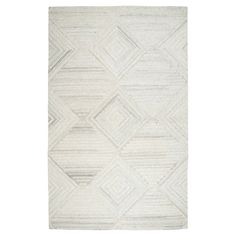 Geometric/Solid Runner - Ivory - (2'6X8' Runner) - Rizzy Home