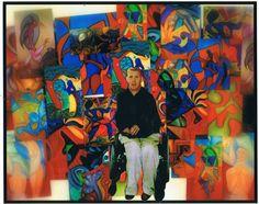 "Cliff Richey (1976-1999) Cubist & Expressionism ""Wall of Art"" http://1-cliff-richey.artistwebsites.com"