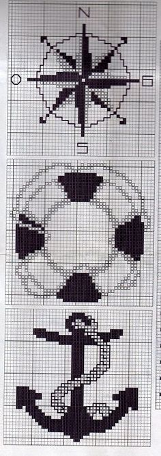Cross Stitching, Cross Stitch Embroidery, Embroidery Patterns, Cross Stitch Patterns, Cross Stitch Sea, Fair Isle Chart, Graph Paper Art, Stitch Book, Cross Stitch Pictures