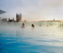 Relax and unwind in the modern Thermae Bath Spa in the City of Bath. Book a Twilight session and relax in the roof top pool as the sun sets over Bath.