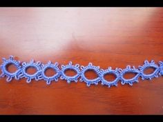Needle Tatting Split Ring (SR) - YouTube