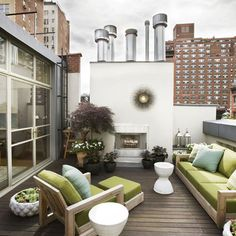 New York Home Roof Terrace Design, Pictures, Remodel, Decor and Ideas