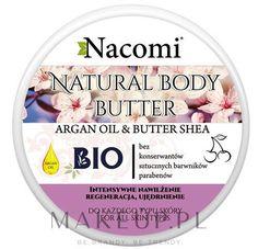 Masło do ciała o zapachu wiśni z masłem shea - Nacomi Natural Body Butter Avocado Oil&Shea Butter kupuj online bez kosztów dostawy | Cena i opinie na MakeUp.pl