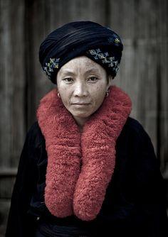 Yao woman, Laos