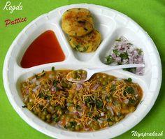 Ragda Pattice Recipe - A very popular Mumbai snack