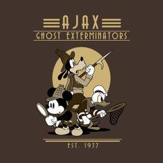 'Ghost Hunters' T-Shirt by Randy van der Vlag Disney T-shirts, Disney Tees, Disney Style, Disney Love, Ghost Hunters, Hunter S, Geek Fashion, Disney Inspired, Disneyland
