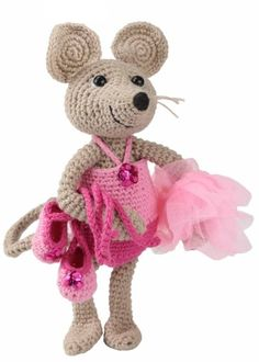 Emily ballerina - heklesett   #Garnkurven #amigurumi