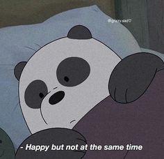 What an empty feelings Cute Panda Wallpaper, Bear Wallpaper, Disney Wallpaper, We Bare Bears Wallpapers, Panda Wallpapers, Cute Wallpapers, Cartoon Quotes, Cartoon Pics, Cute Cartoon