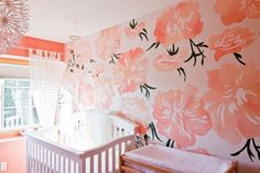 Baby V's Pink Peony Nursery My Room | Apartment Therapy