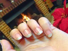 - The World Of Jenni Sala : Manicura francesa con purpurina /// French manicure glitter