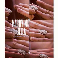 The proposal ...' On Eclipse (Cr: @Bethany Shay ) #bellward #bellaswan #edwardcullen #thetwilightsaga #eclipse