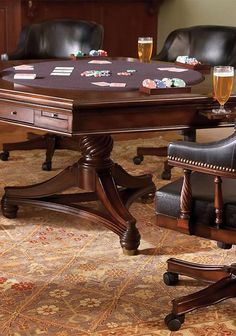 Our Burbank Game Room Furniture ensure guest's comfort all night long.