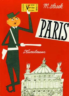 Miroslav Saseks Paris-Reiseführer   (c) Kunstmann Verlag