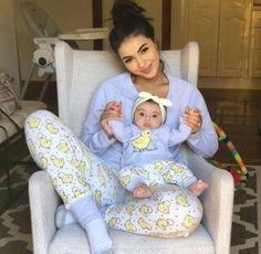 piżama dla mamy i córki - Unique Baby Outfits So Cute Baby, Cute Baby Clothes, Mom And Baby, Cute Babies, Mommy And Me, Twin Babies, Little Babies, Baby Twins, Baby Baby