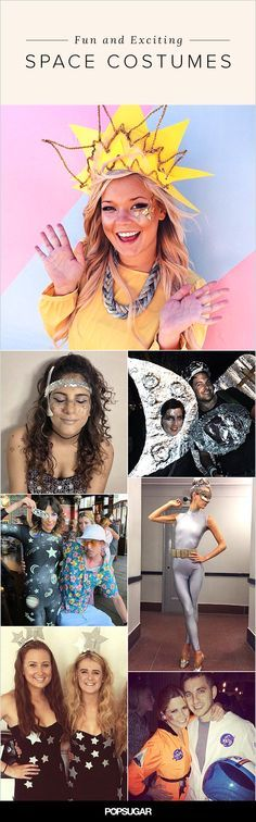 These space Halloween costumes are out of this world!                                                                                                                                                                                 More