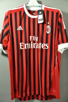 AC Milan Home Jersey Shirt Replica 2011 Series A Italy