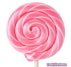 big lollipops wrapped in cellophane with a ribbon and cute label could be a great favor