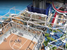 Norwegian Breakaway Recreation and Activities | Sports Complex | Norwegian Cruise Line