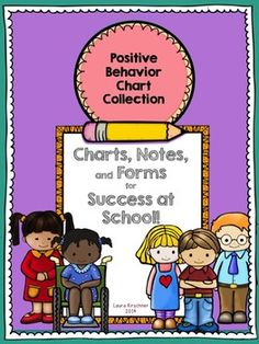 $ Great for summer school and ESY program's! Positive Behavior Chart Collection Behavior management is tricky! This collection of charts, lists, and notes are perfect with students with IEP's, or simply for reinforcing positive behavior.