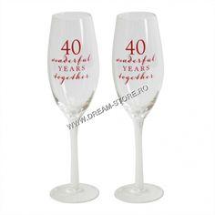 Anniversary Surprise, Wine Glass, Tableware, Shop, Decor, Wine, Dinnerware, Decoration, Tablewares