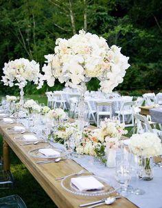 Photographer: Janae Shields Photography; Wedding reception centerpiece idea