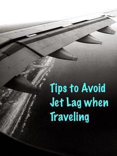 How to avoid and beat jet lag when traveling. 8 Different tips! #travel #flying #JetLag #TravelTips #tips
