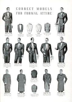 1940 'New Styles For Men'