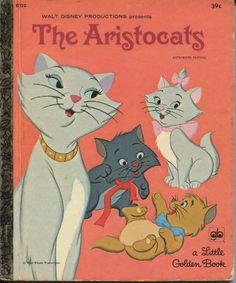 *THE ARISTOCAT's ~ Little Golden Book